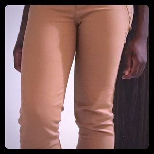 ZARA WOMAN tan colored, business casual trousers